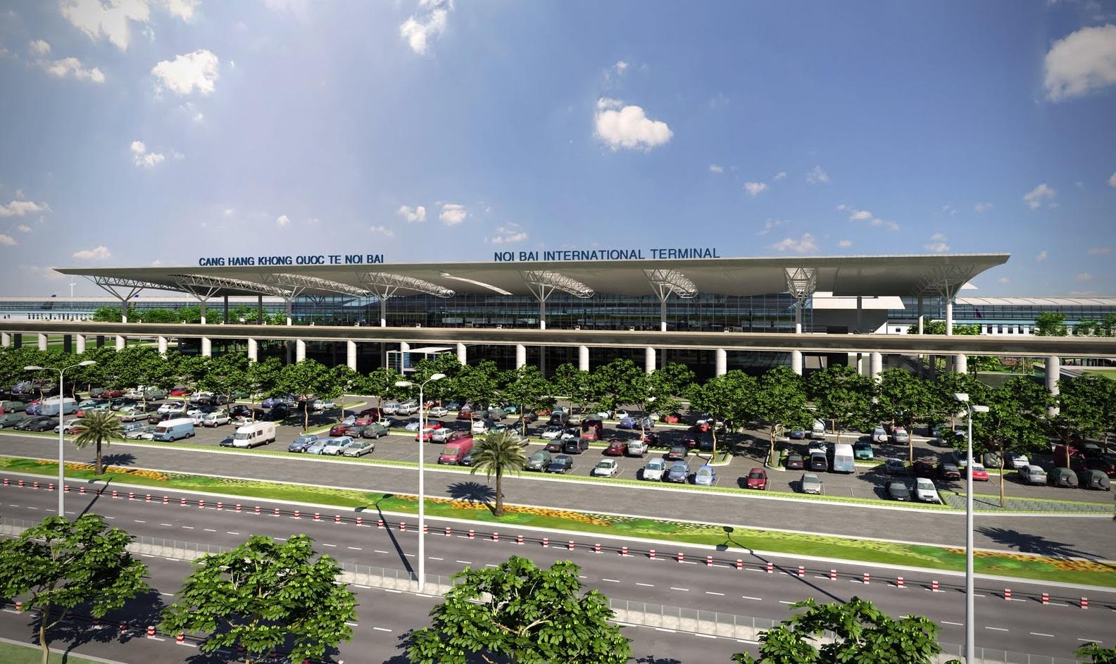 aeroport Noi Bai-Hanoi