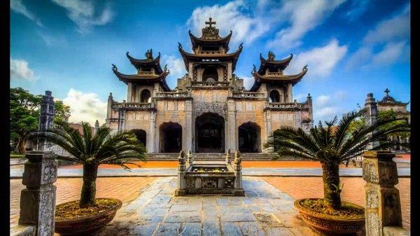 eglise de Phat Diem a Ninh Binh