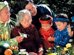 La famille vietnamienne