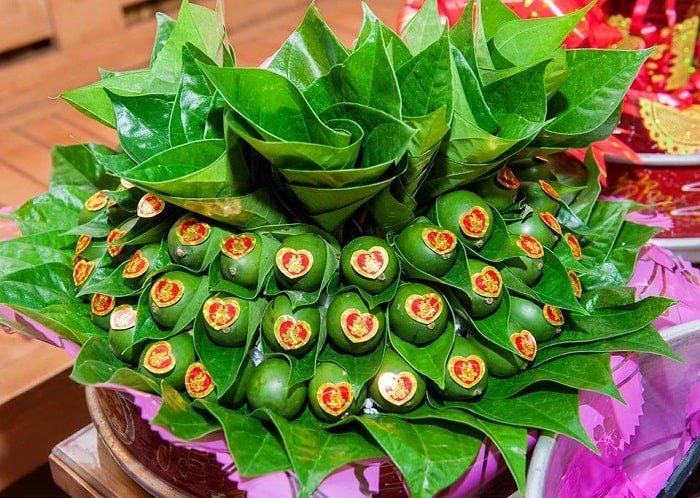 le betel au mariage vietnam