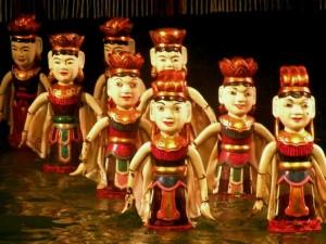 Spectacle des marionnettes sur l'eau