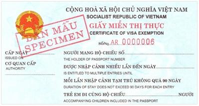 mien thi thuc visa vietnam