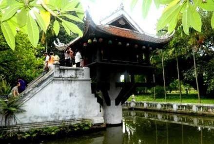pagode au pilier unique de hanoi
