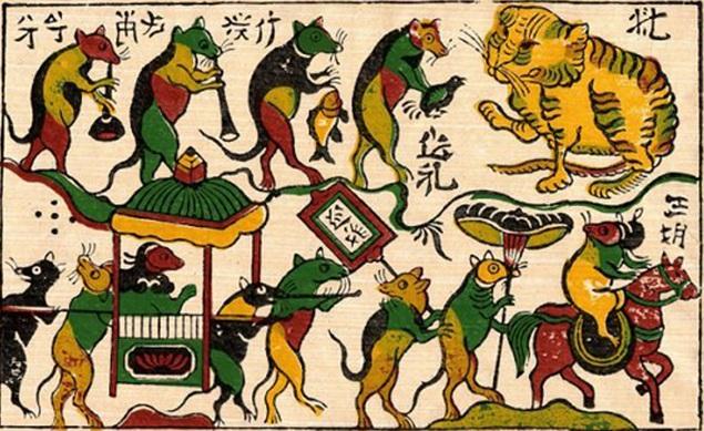peinture vietnamienne traditionnelle