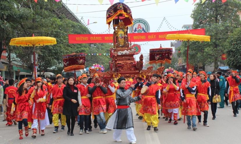 une-fête-villagoise-au-Vietnam