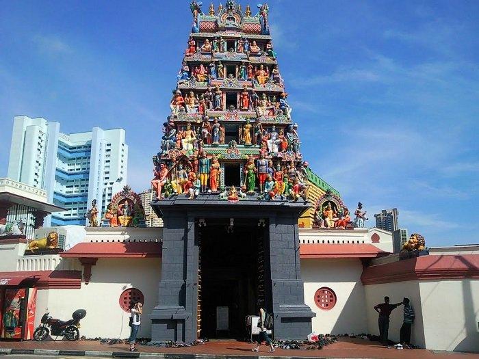 Temple Mariamman hindouisme au vietnam