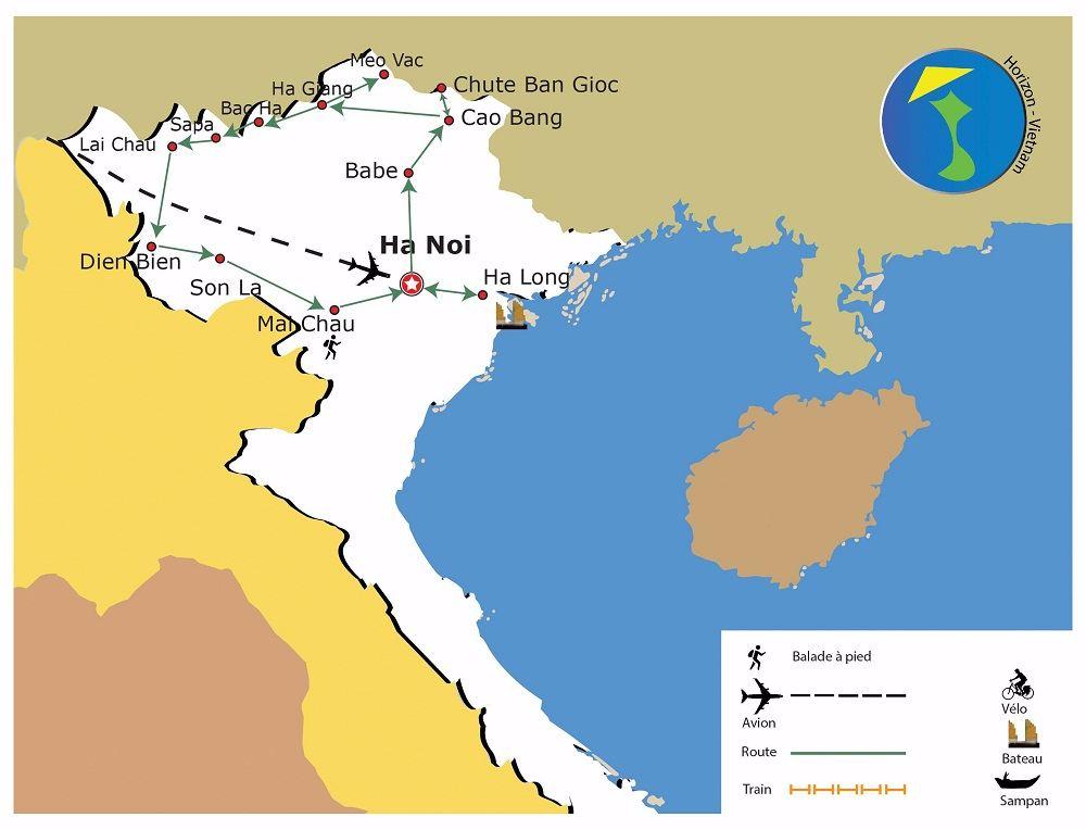 carte-circuit-du-nord-vietnam