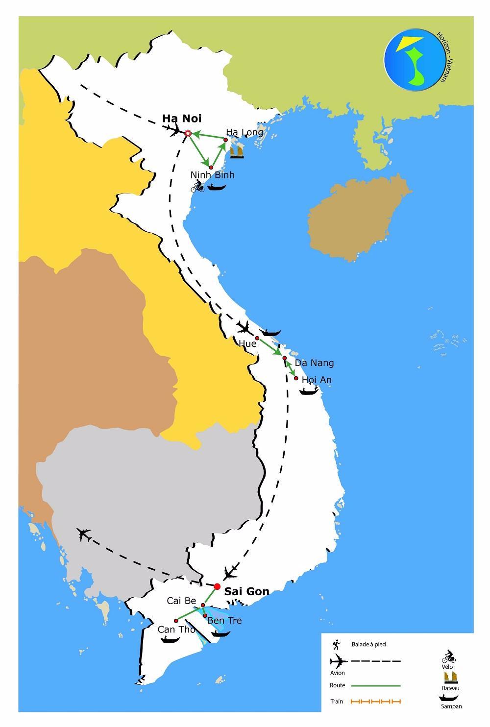 carte-du-circuit-charme-vietnam-12-jours