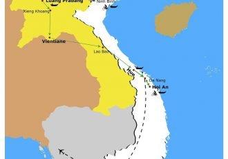 la-carte-voyage-entre-le-vietnam-et-laos