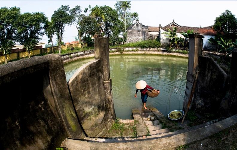 Le-puit-communal-du-village-vietnam