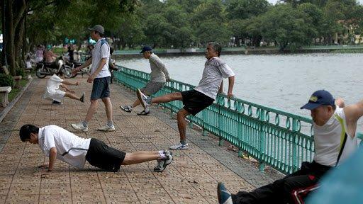 sport matinal vietnam