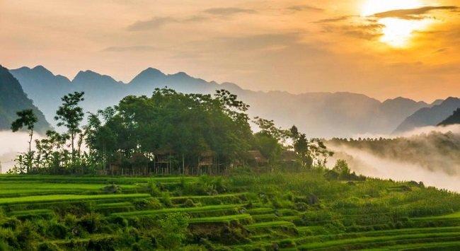 pu luong - vietnam
