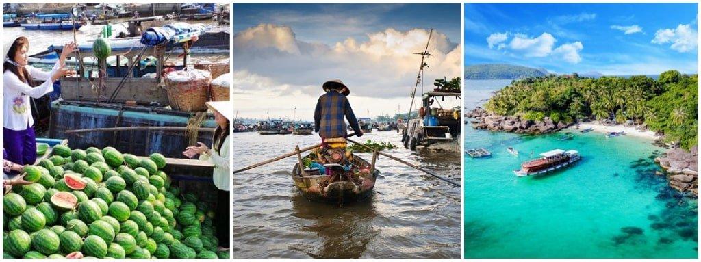 Delta du Mékong et Île de Con Dao 2-min