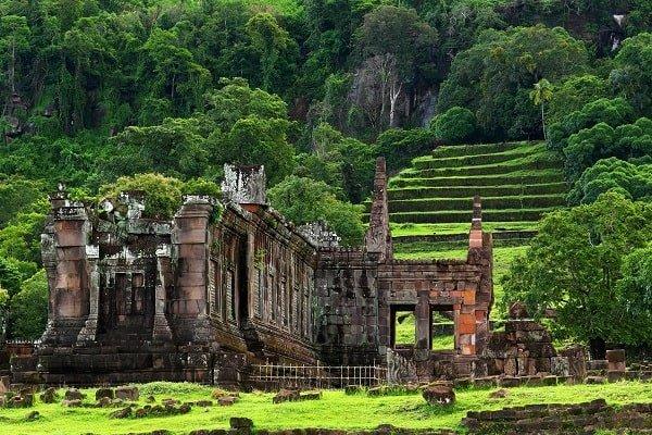 le temple de Vat Phu - Laos