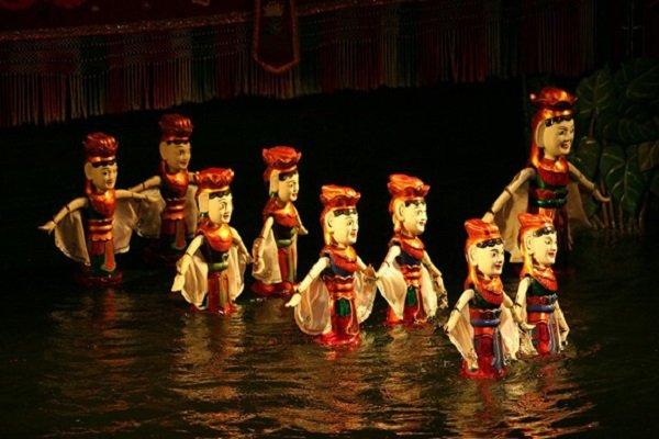 marionnette sur eau - voyage au vietnam