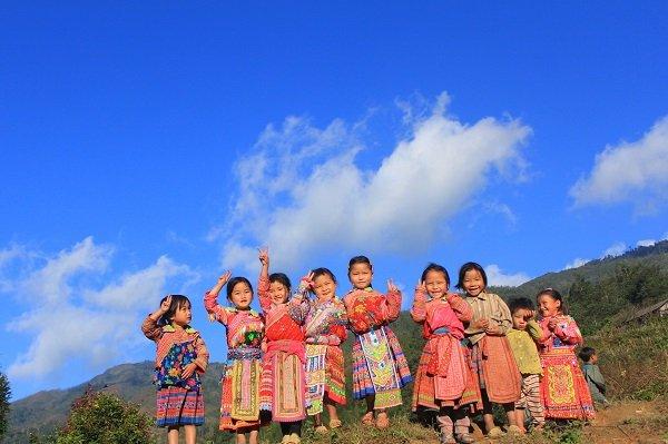 les enfants du nord vietnam