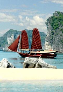 photo-destination du vietnam la baie d'halong