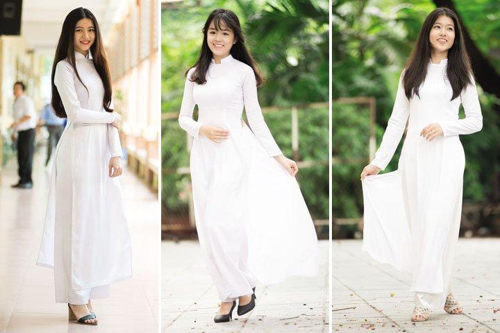 tenue traditionnelle ao dai vietnam