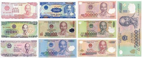 billet monnaie vietnam