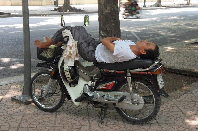 moto-sieste